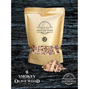 Virutas de encina Nº3 (Smokey Olive Wood) 1,7L