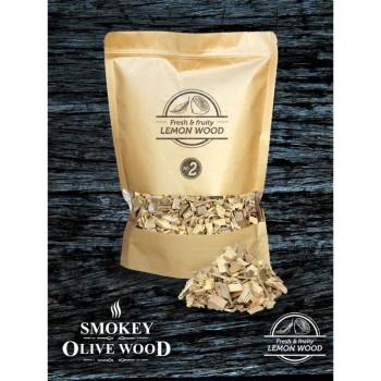 Virutas de limonero Nº2 (Smokey Olive Wood) 1,7L