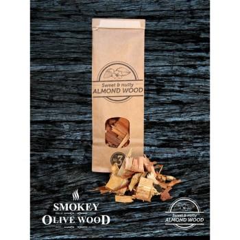 Virutas de almendro Nº3 (Smokey Olive Wood) 0,5L