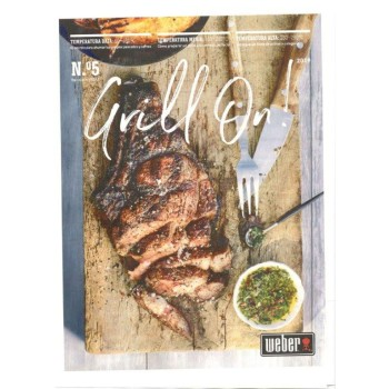 Descarga gratuita GRILL ON 2019 Revista Weber Oficial