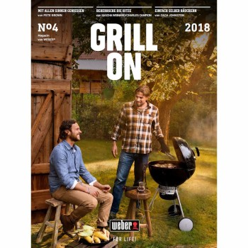Descarga gratuita GRILL ON 2018 Revista Weber Oficial