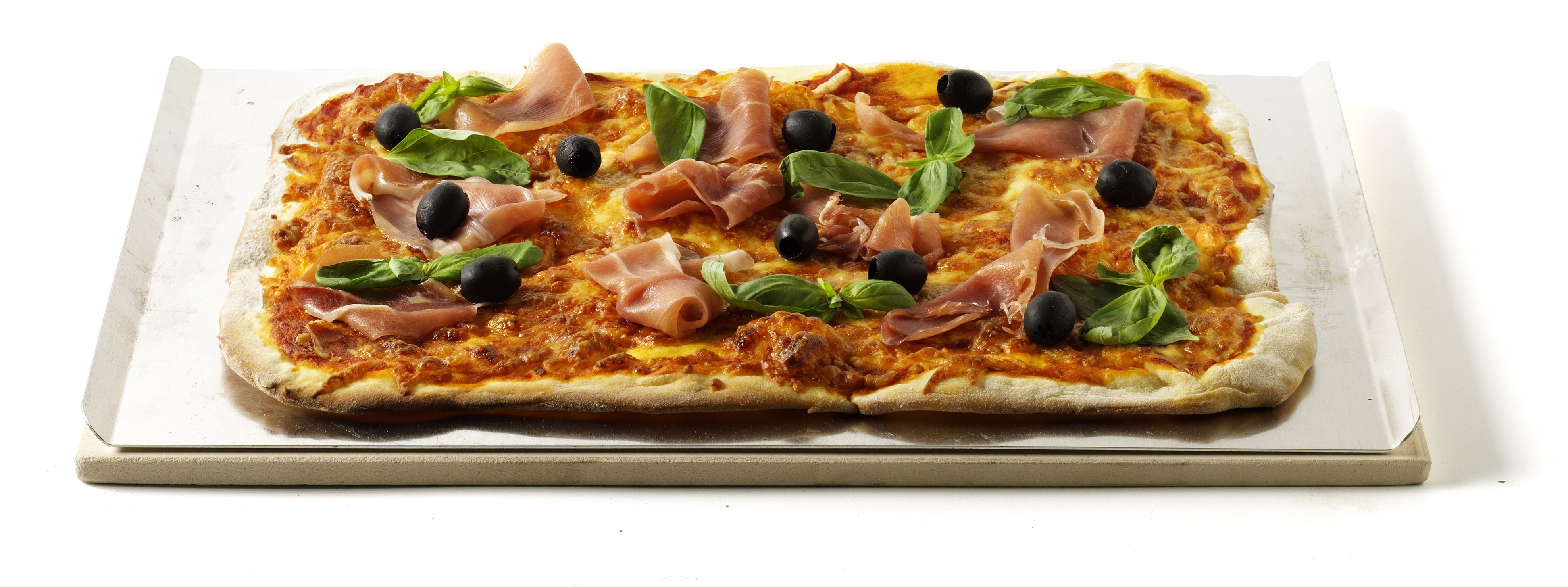 Piedra rectangular para pizzas 30,5 cm x 44 cm para barbacoas de ga...