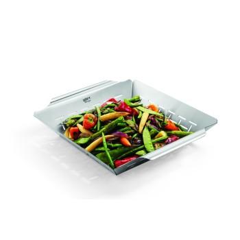Cesta acero inoxidable para hortalizas Weber Style 34 x 38 x 5 cm